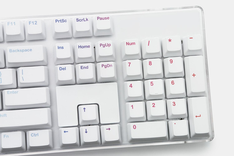 IKBC Rainbow & Sky PBT Dye-Subbed Keycap Set