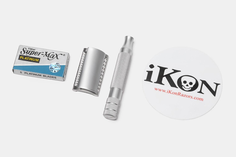 iKon X3 Slant DE Safety Razor Head & Razor