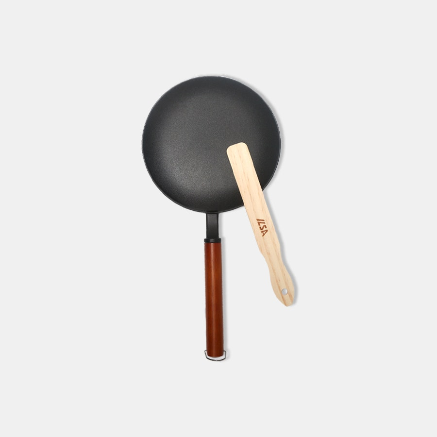 Ilsa One-Step French Crepe Pan With Spatula
