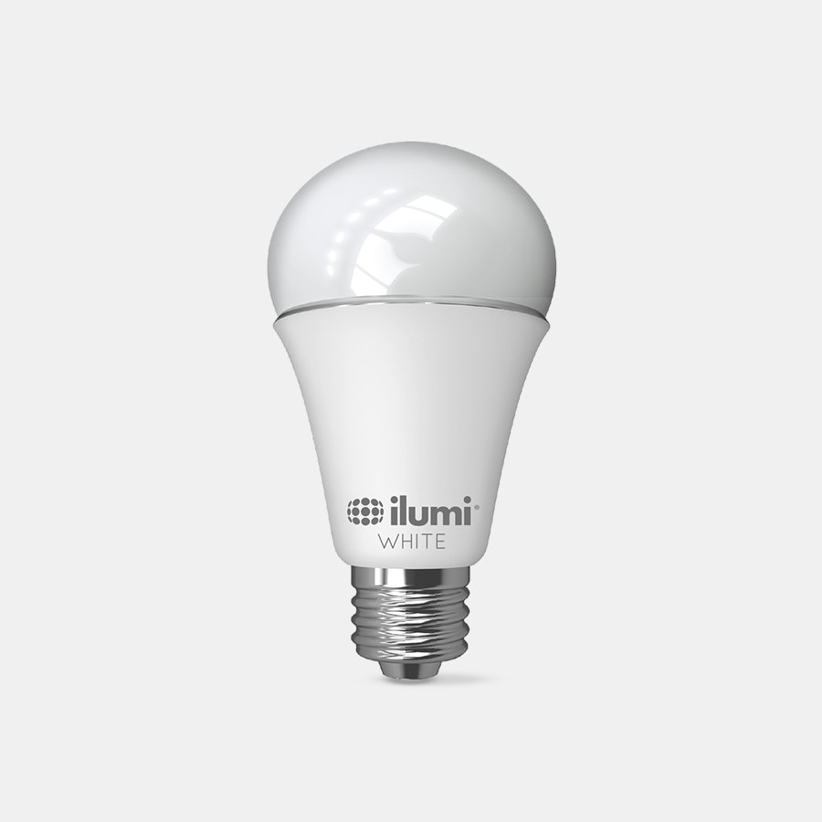 ilumi Ajustable White A19 LED Smart Light Bulb