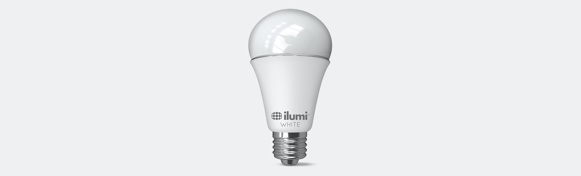 Attractive Ilumi Ajustable White A19 LED Smart Light Bulb