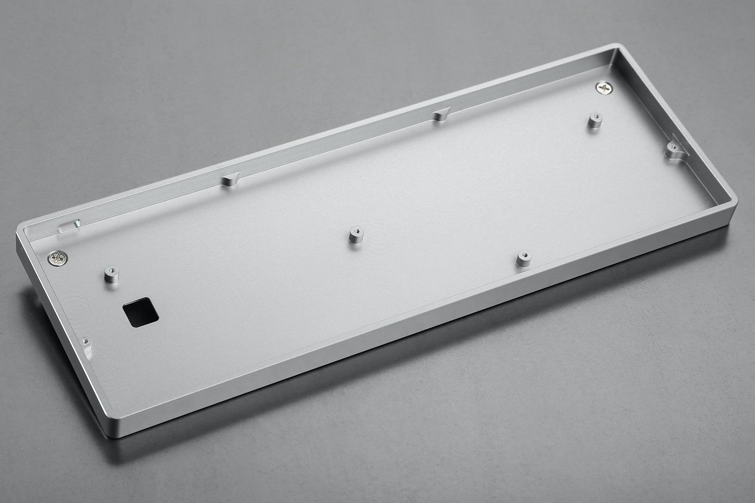 Low Profile CNC Aluminum Case Silver