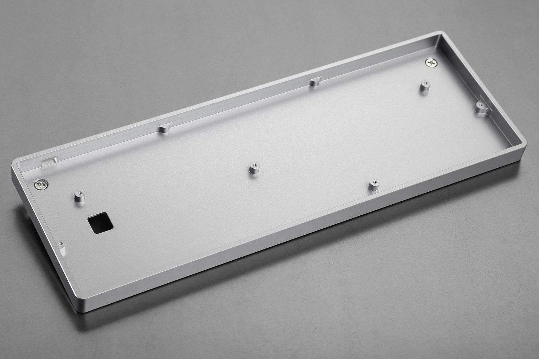 Low Profile CNC Aluminum Case Silver