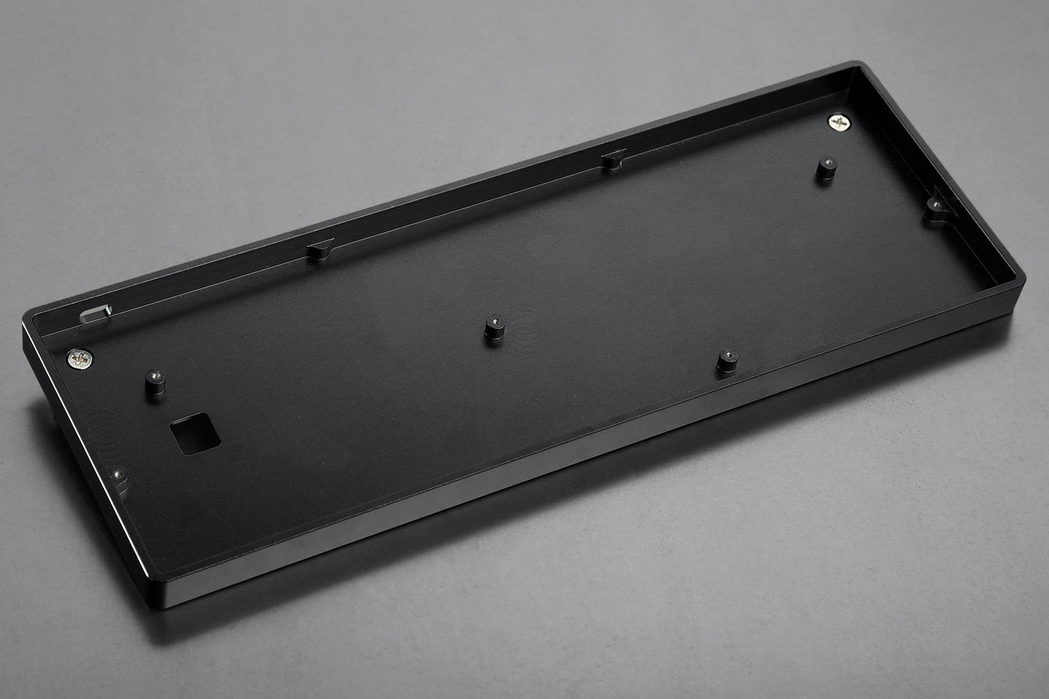 Low Profile CNC Aluminum Case Black