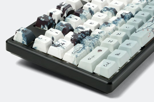 Ink Wash PBT All Over Dye-Subbed Keycap Set