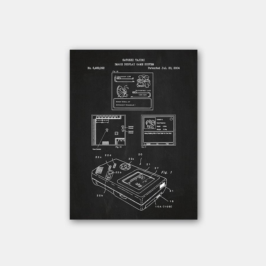 Inked & Screened '90s Kids Patent Prints