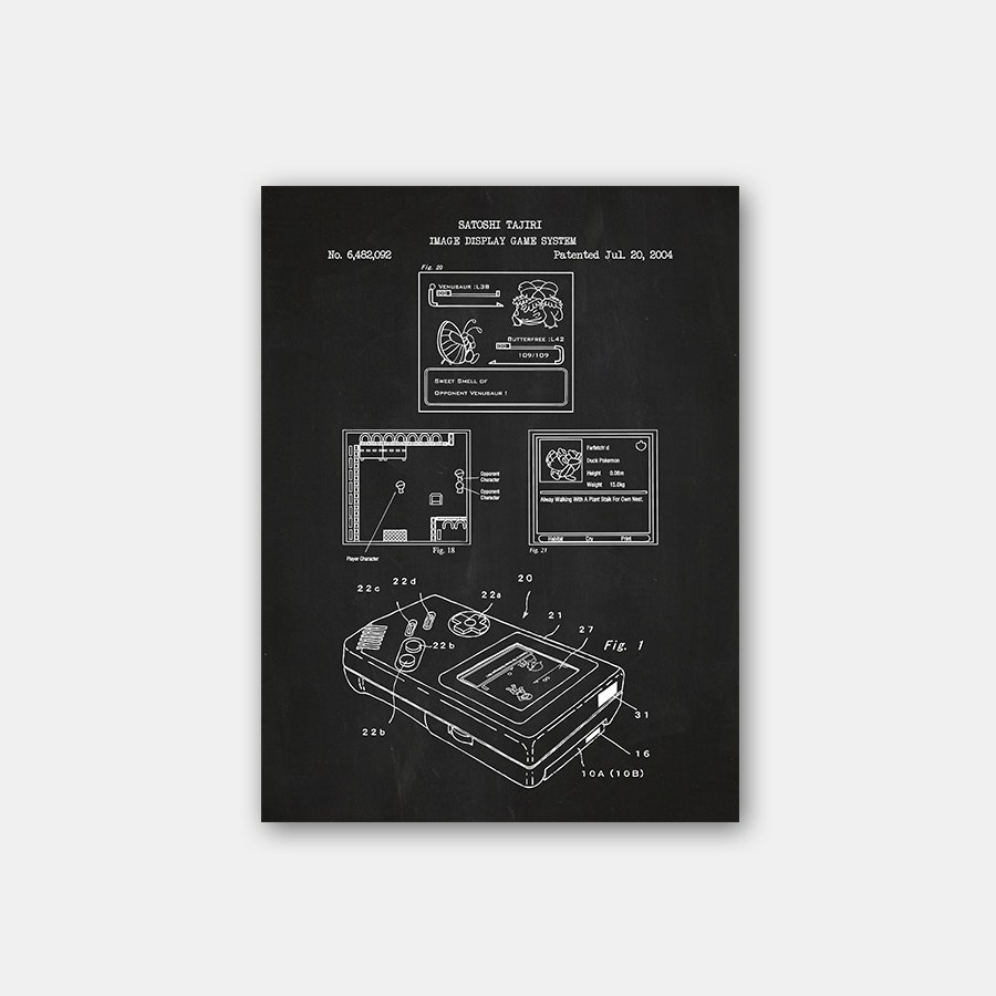 Inked & Screened '90s Kids Patent Prints