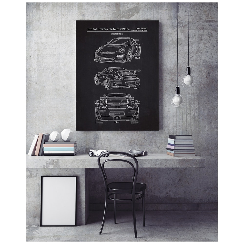Inked and Screened Automotive Prints