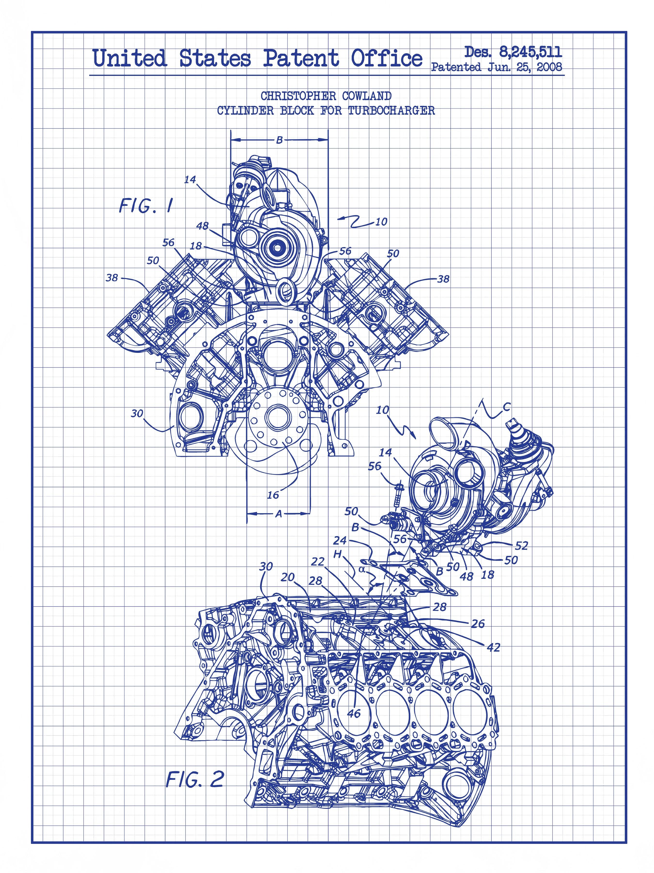 Cylinder Block for Turbocharger