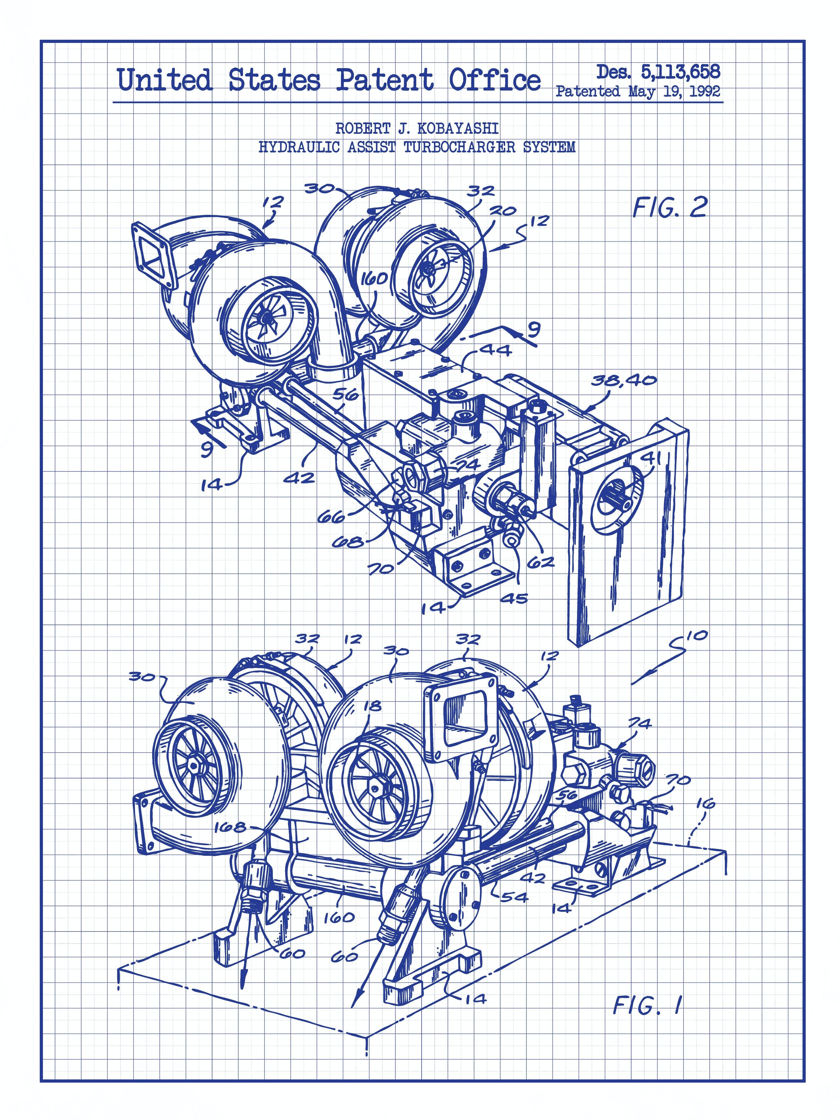 Hydraulic Assist Turbocharger System