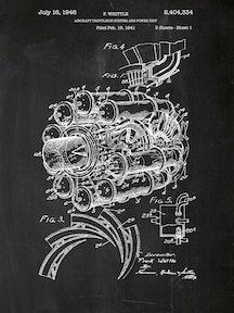 Airplane Engine - F. Whittle - 1946 - 2,404,334