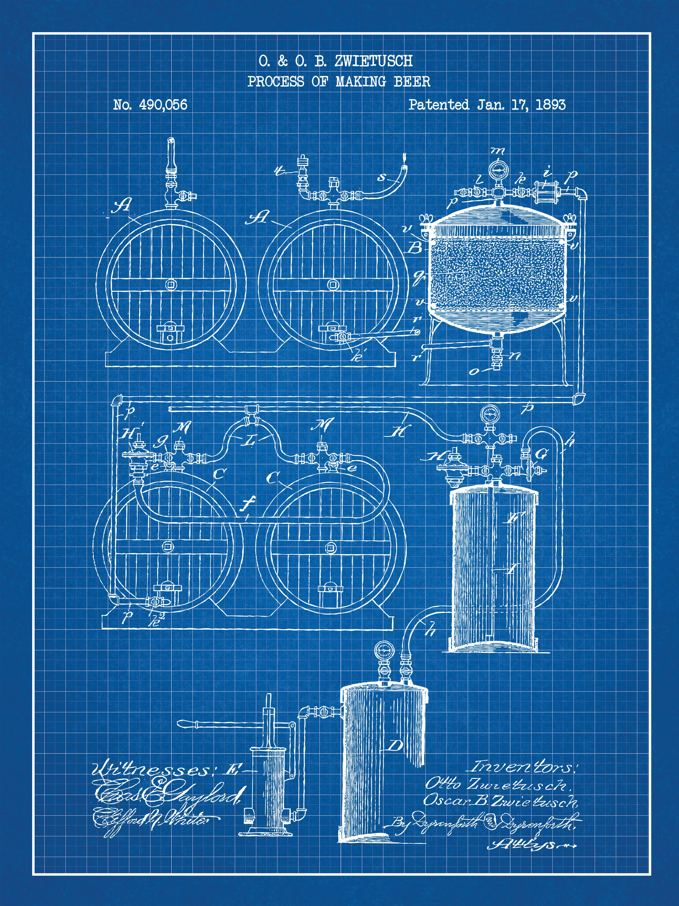 Process of Making Beer - 490,056