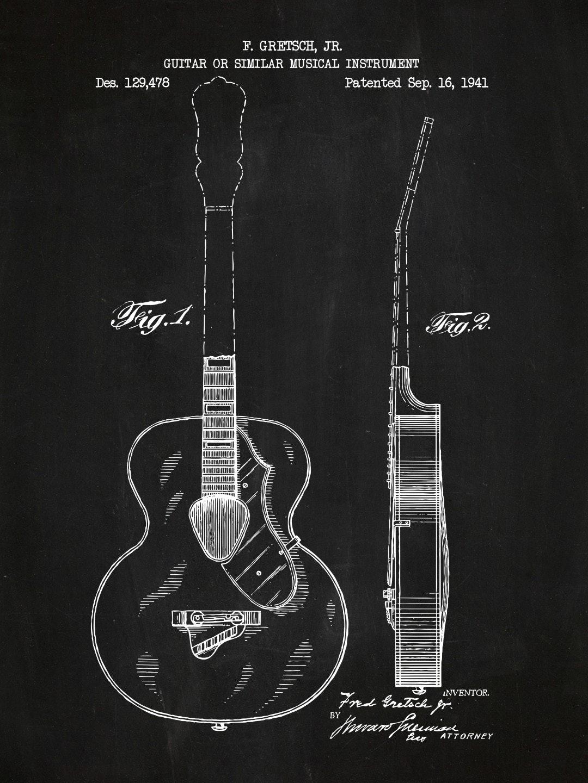 Gretsch Guitar - 129,478