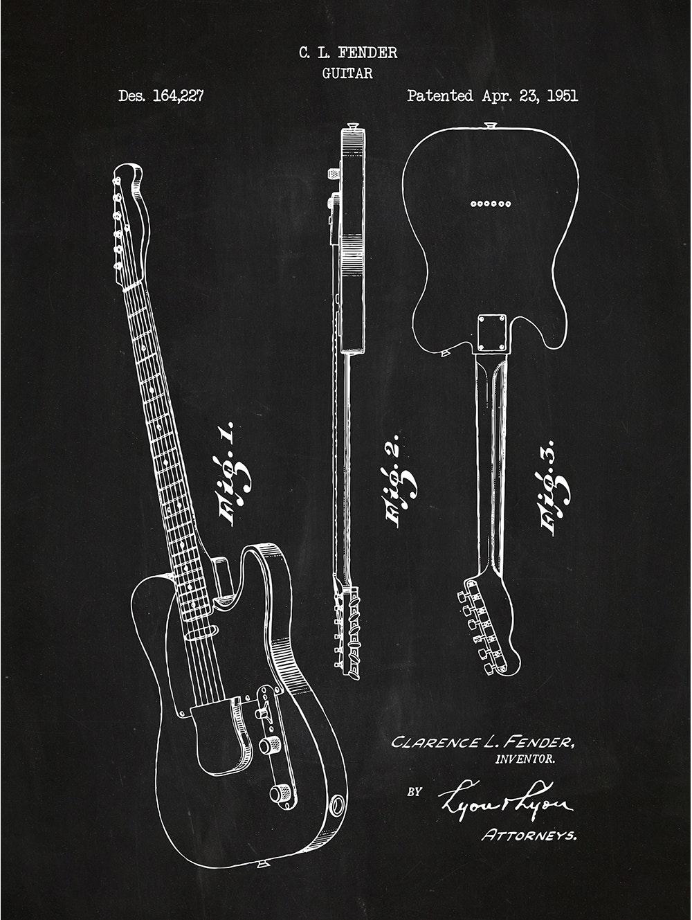 Fender Guitar - 164,227