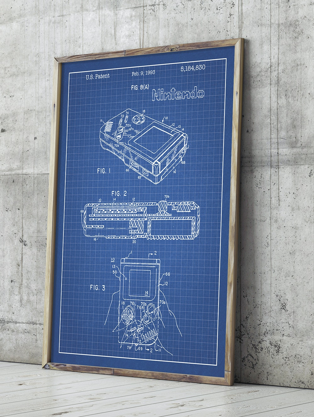 Inked and Screened Awesome Mix Patent Prints