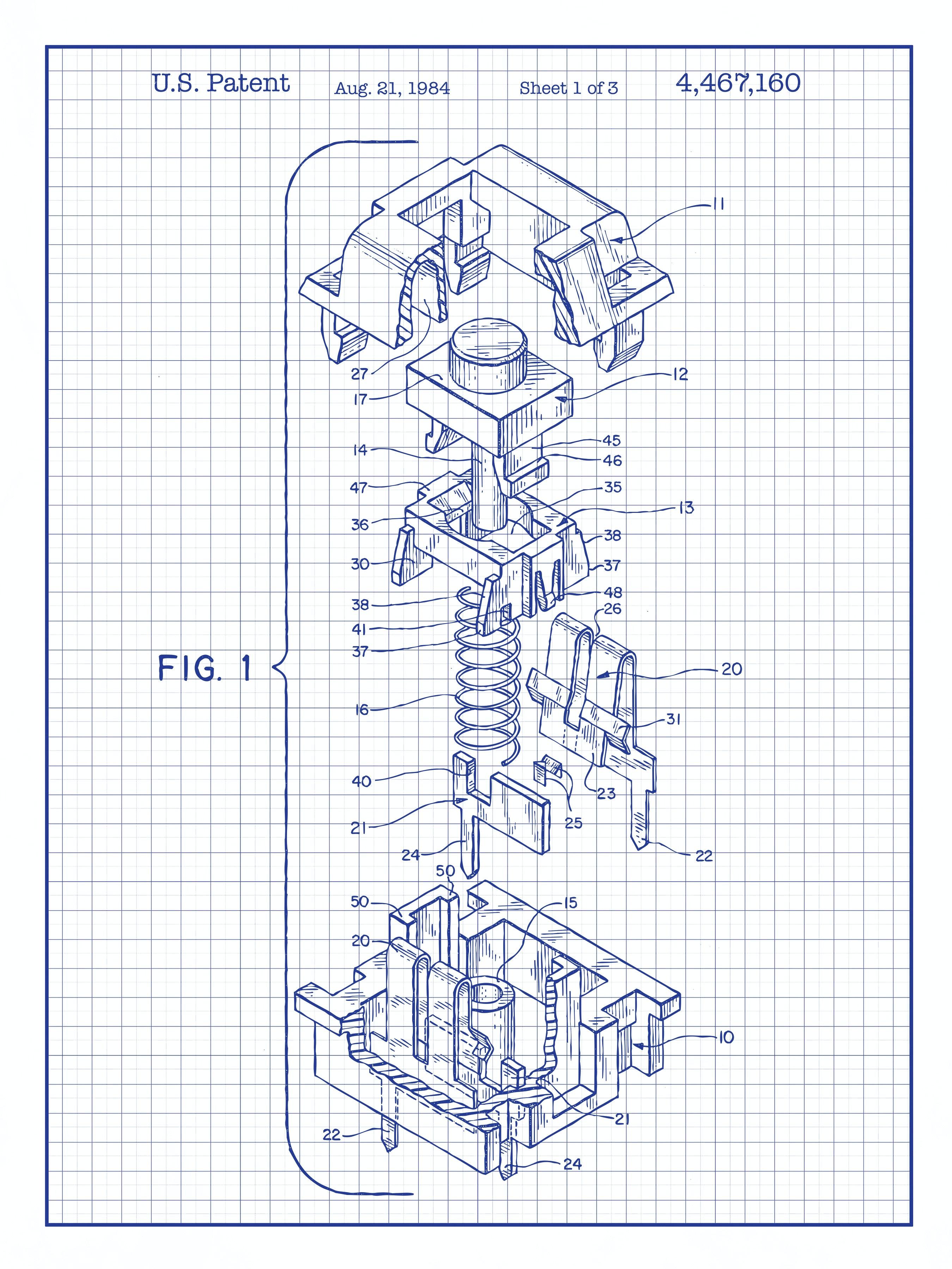 Mechanical Key Cap - 4,467,160