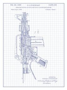 M16 - F.E. Sturtevant - 1966 - 3,236,155