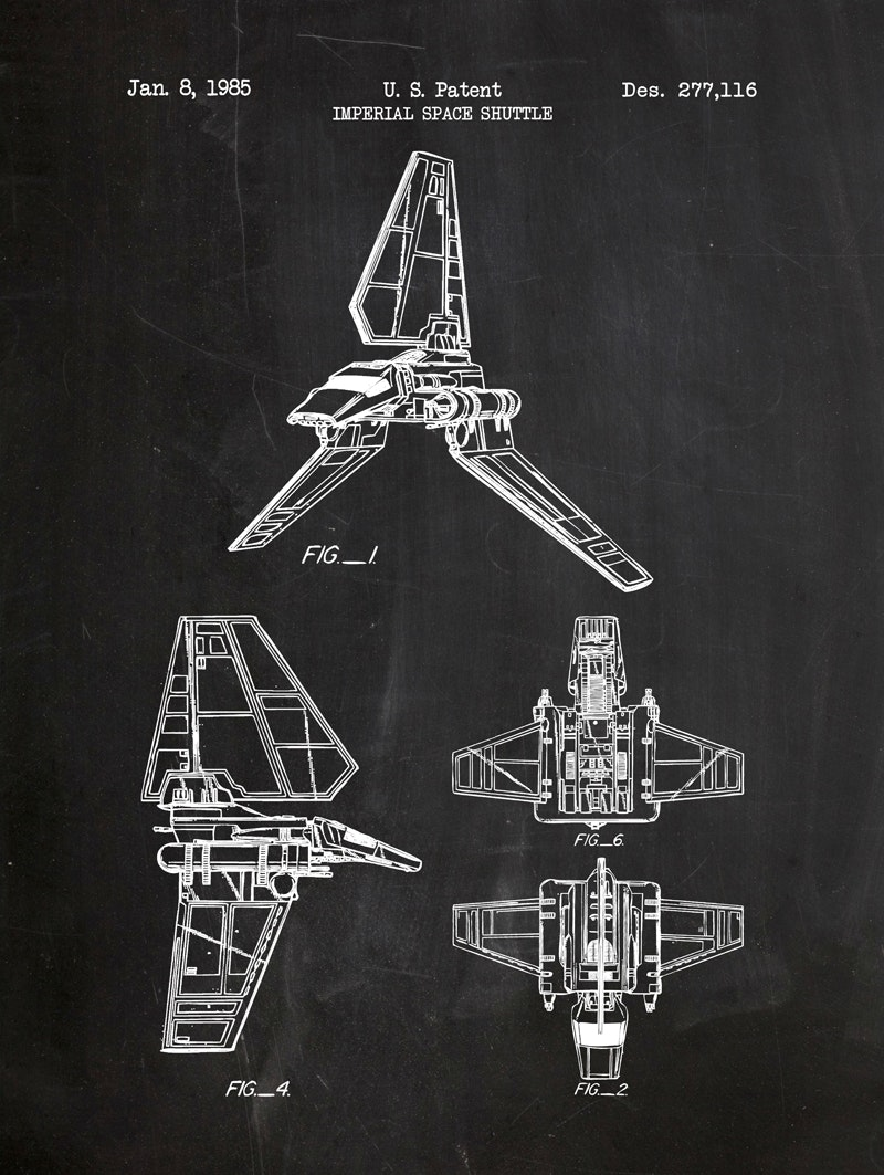Star Wars - Imperial Space Shuttle