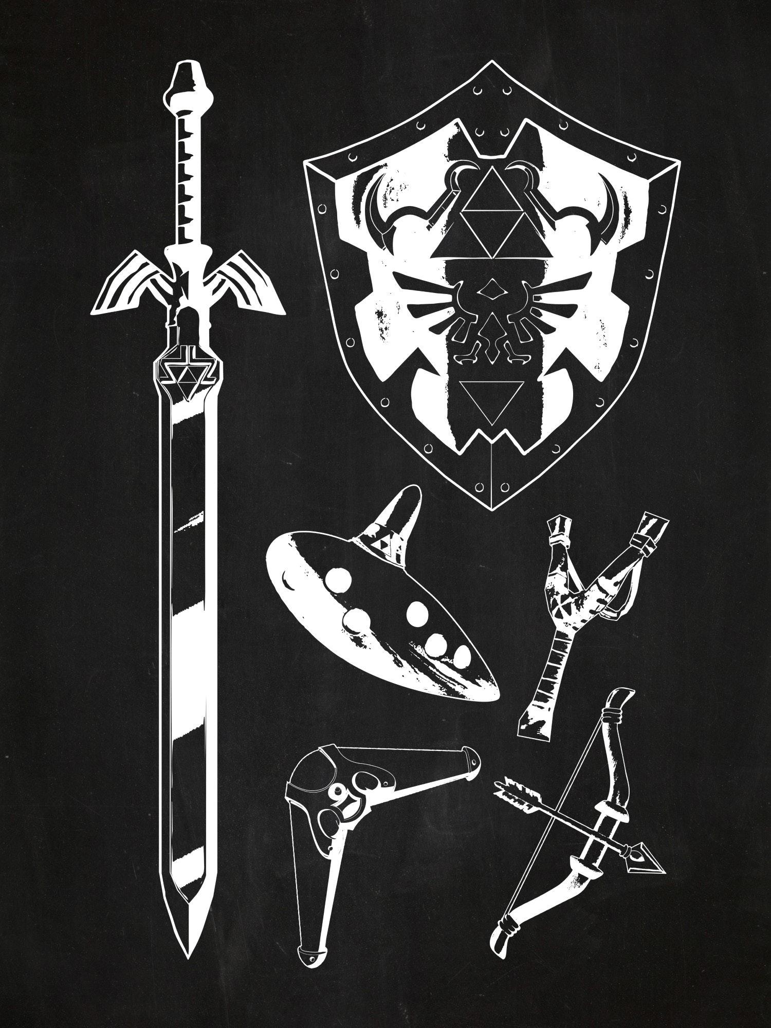 Zelda Weapons
