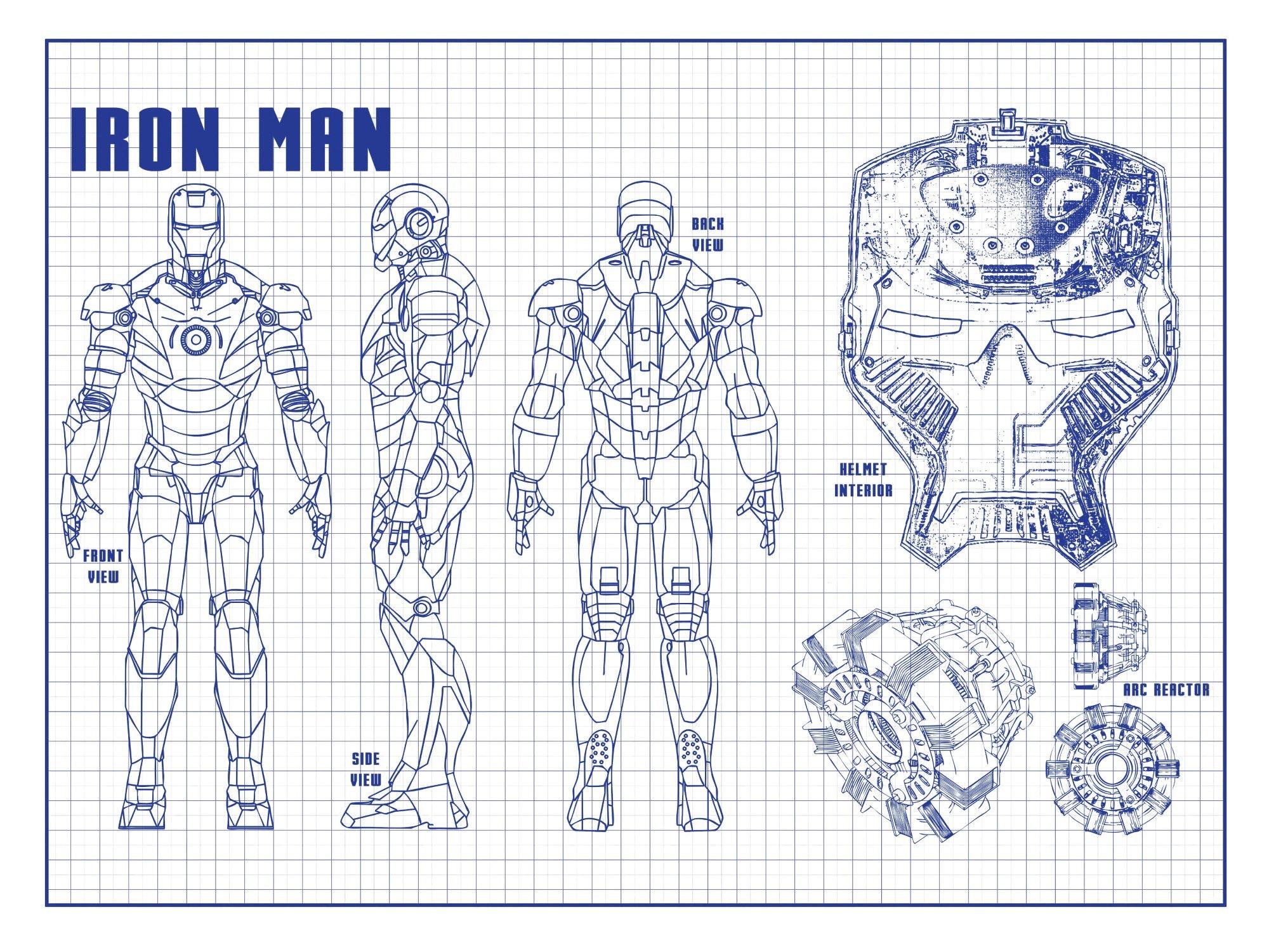 Iron Man - Suit design