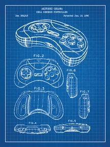 Sega Genesis Controller