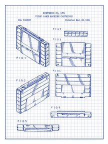Video Game Machine Cartridge