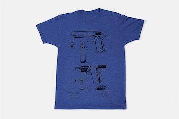 Browning FIrearm  - Blue