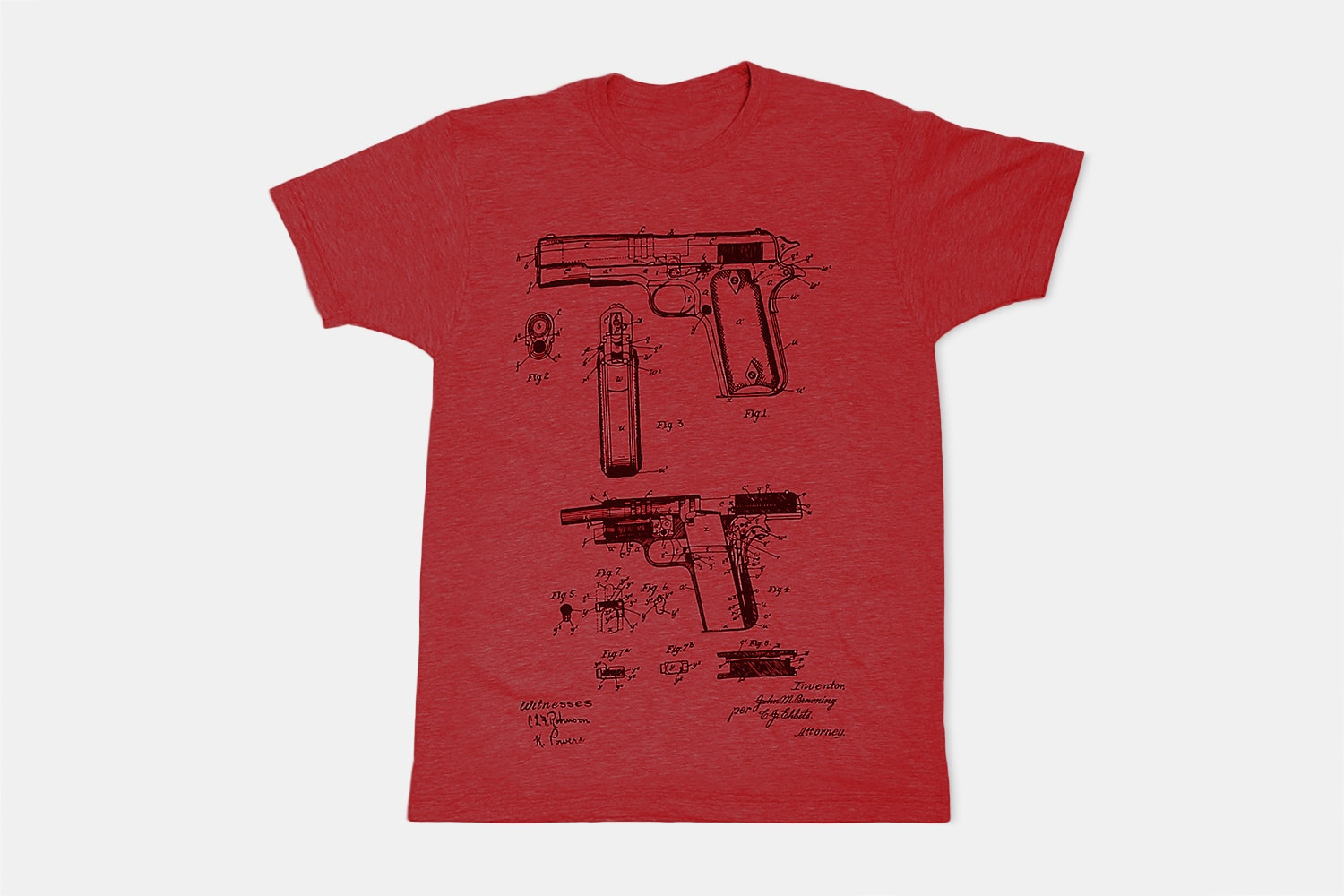 Browning FIrearm - Red