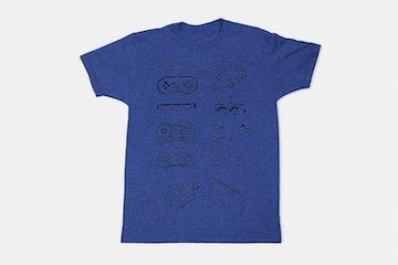 Nintendo Controllers - Blue