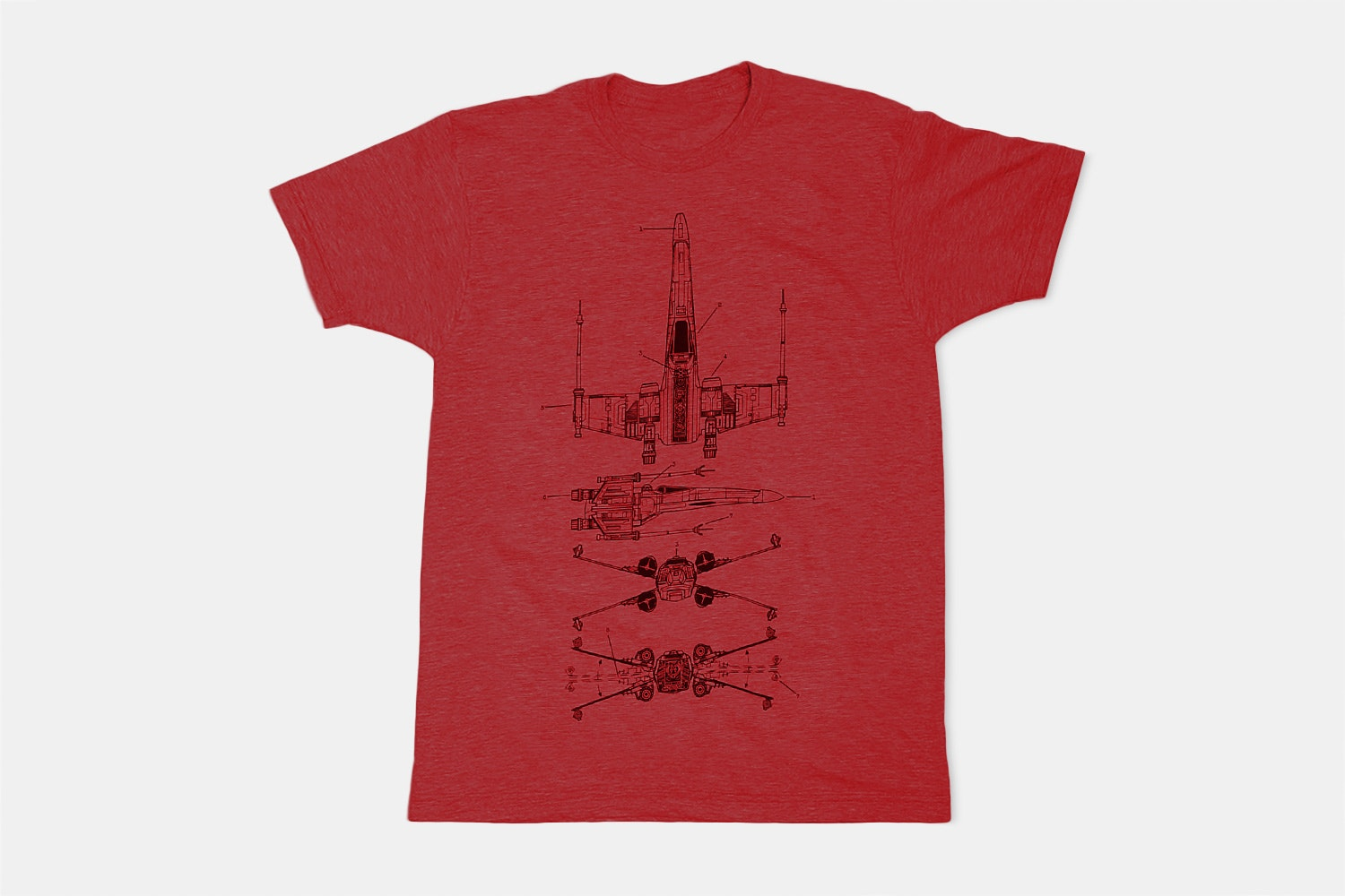 X Wing - Red
