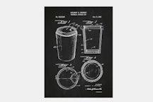 Thermal Coffee Cup - Chalkboard