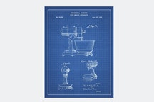 Stirring Coffee Press/ R.F. Bioolchini JR 2010 - Blue Grid