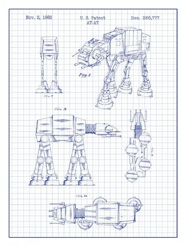 SP-SYFI-ATAT-Walker-266,777-White-Grid-Blue-Ink-24-Inches