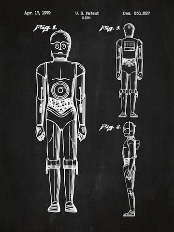 SP-SYFI-C-3PO-251,627-Chalkboard-White-Ink-24-Inches