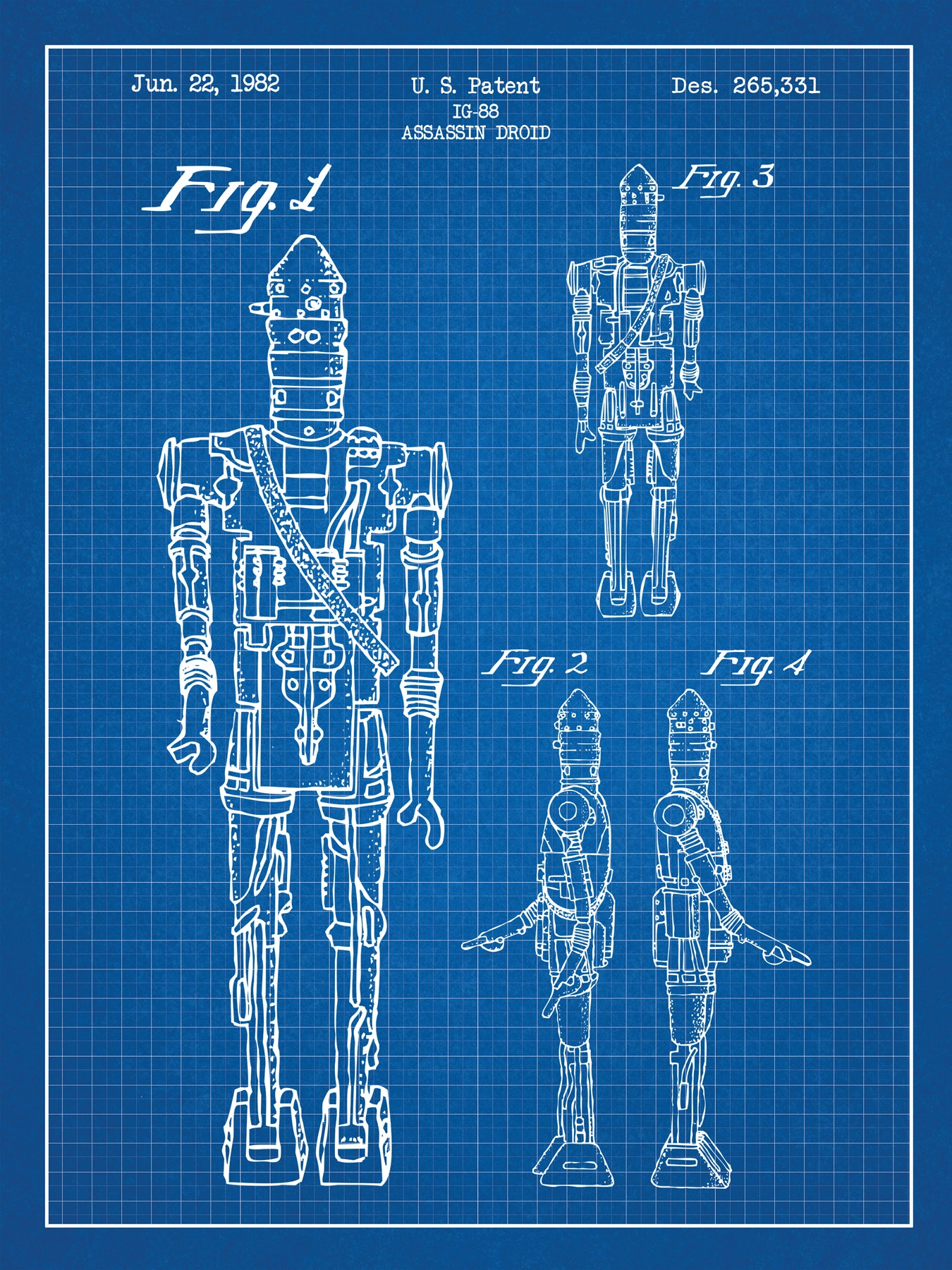SP-SYFI-IG88-Droid-265,331-Blue-Grid-White-Ink-24-Inches