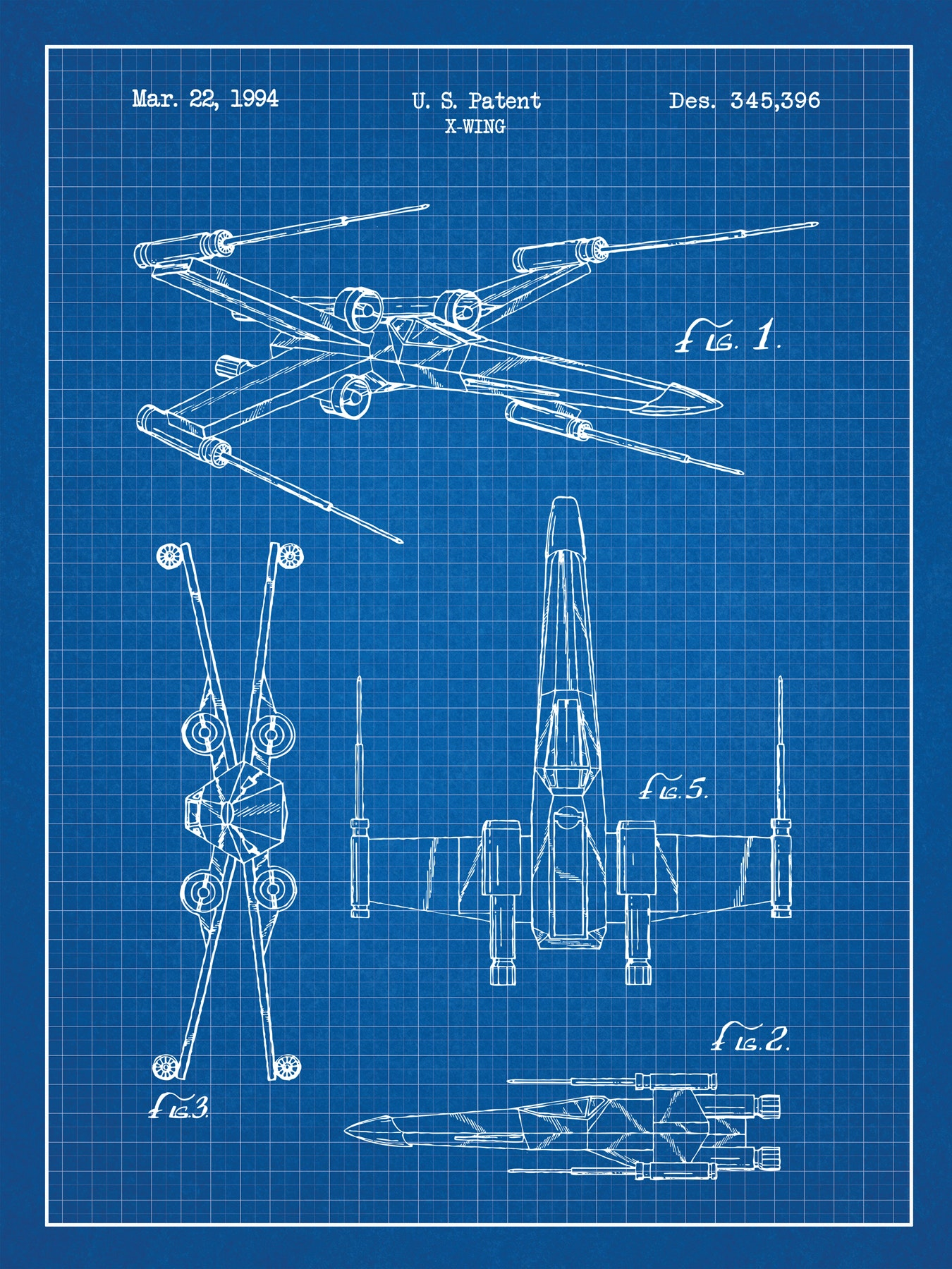 SP-SYFI-X-WING-345,396-Blue-Grid-White-Ink-24-Inches