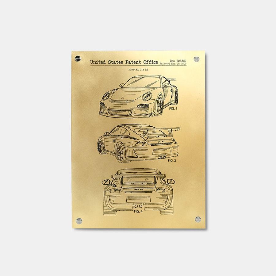 Inked & Screened Metal Automotive Prints