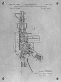 Firearm having an Aux Bolt Closure