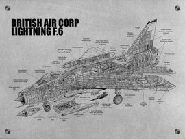 British Air Corp Lightning F.6
