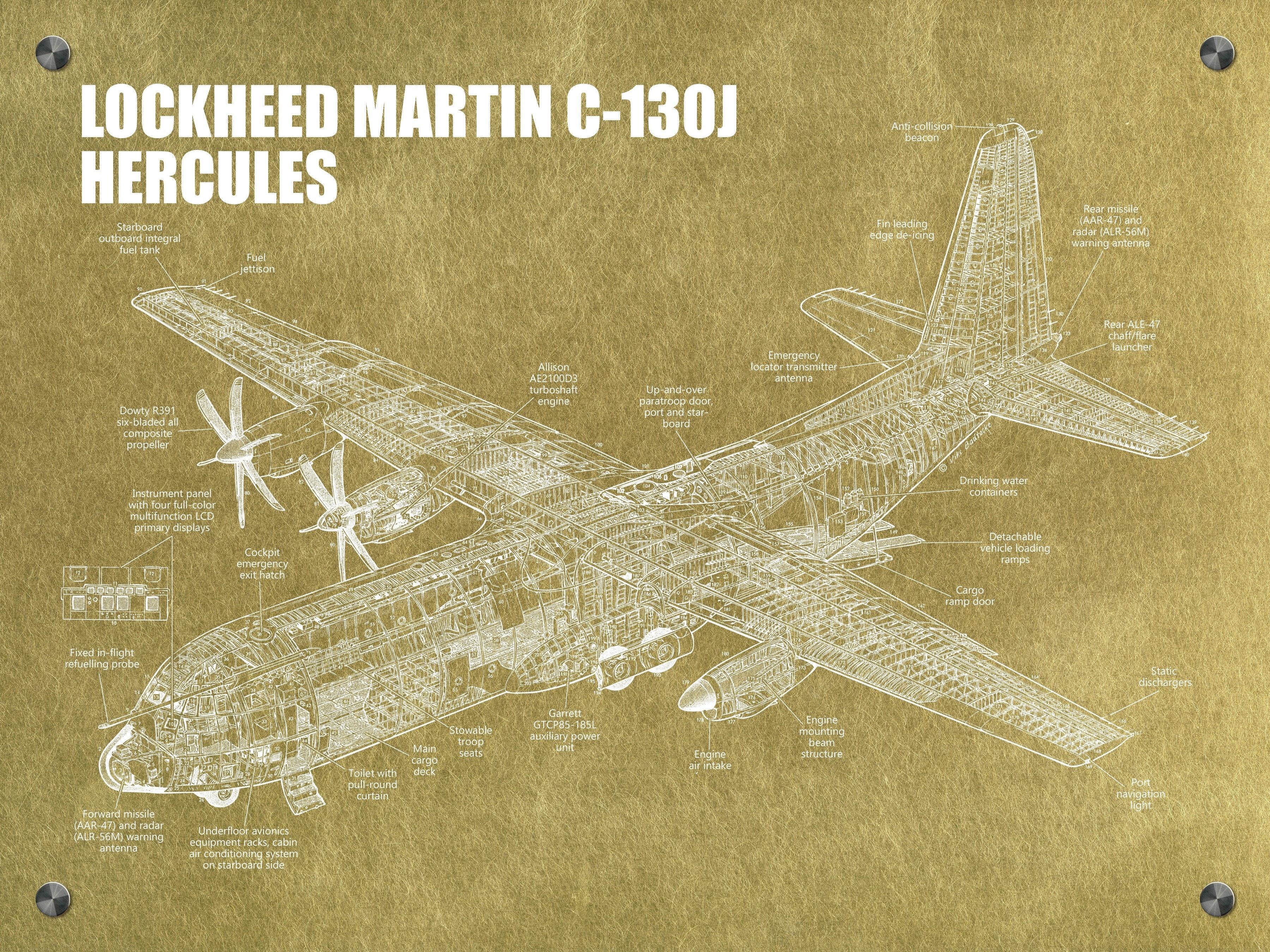 Lockheed Martin C-13Oj Hercules