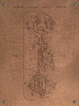 Key Cap Patent] - 4, 467, 160