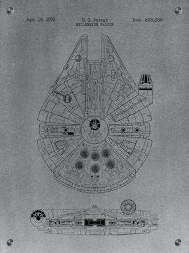 Star Wars Millennium Falcon Patent - 1979
