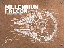 Star Wars Millenium Falcon - Bluepring
