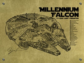 Millenium Falcon - Cutaway
