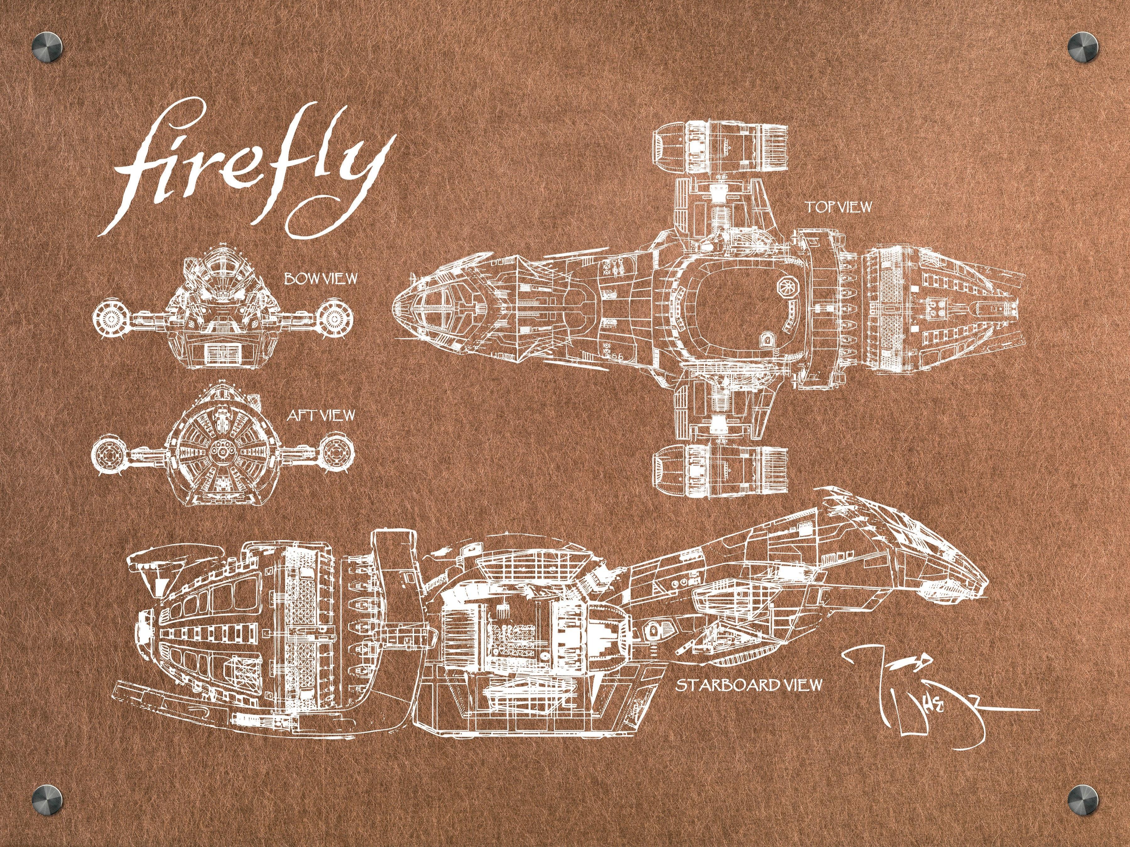 Firefly - Serenity (Landscape