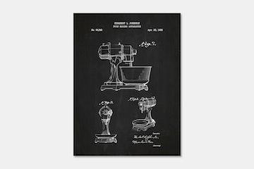 Food Mixing Apparatus – Chalkboard