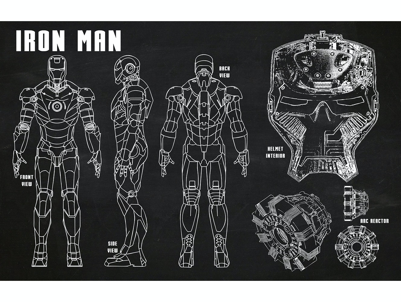 Iron Man - Suit design