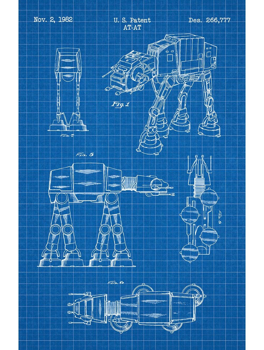 Star Wars - AT-AT Walker - 266,777