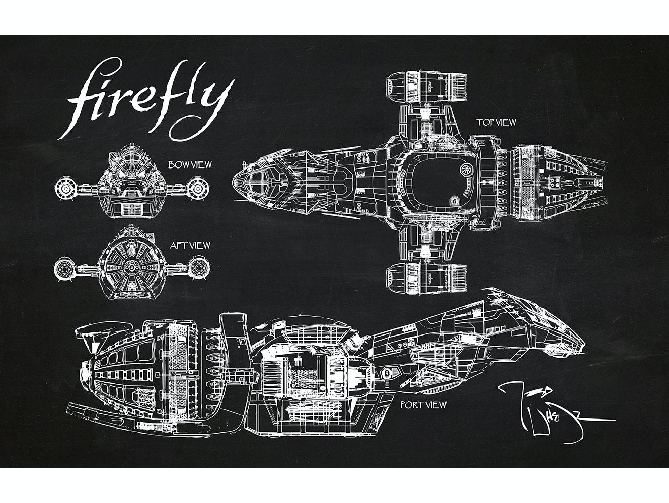 Firefly - Serenity (Horizontal Print)