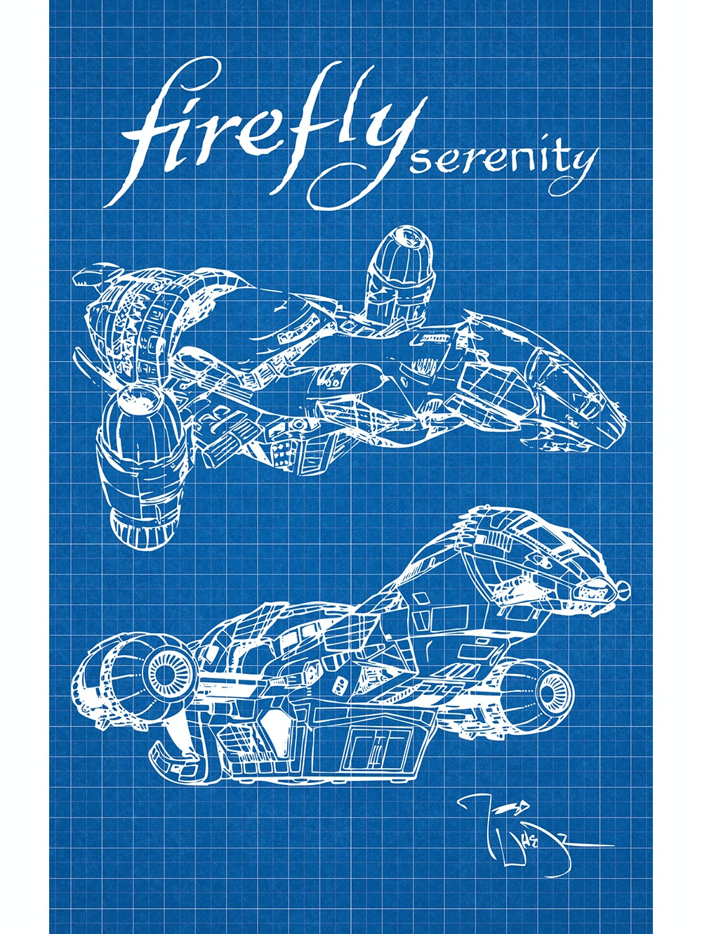 Firefly - Serenity (Vertical Print)